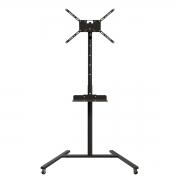 Pedestal Class pedestal com bandeja e ajuste de altura para tv de ate 55 pol