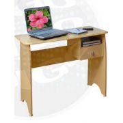 Studio Mesa para computador com gaveta. COR: MARFIM