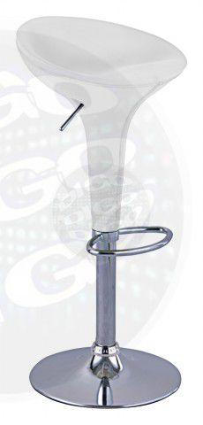 BQ 001 Cadeira a gás base cromada-prata-embalagem c/ 2 unidades