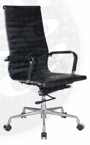 CADEIRA SLIM Cadeira Diretor em Couro