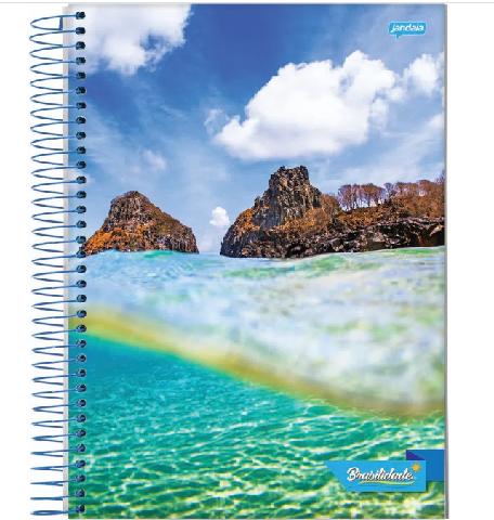 Caderno Universitário capa dura Brasilidade