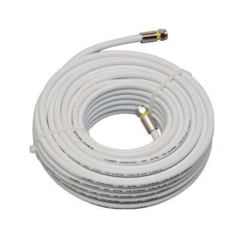 CBO-0667 20 METROS KIT CABO COAXIAL RG06 67% COM CONECTORES