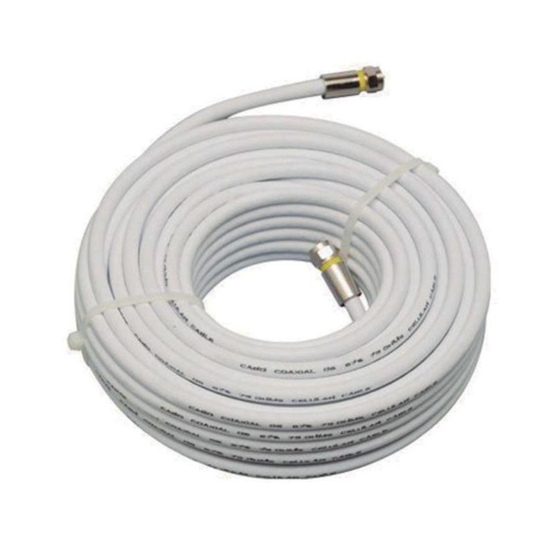 CBO-5947-20 METROS KIT CABO COAXIAL RG59 47% COM 2 CONECTORES o