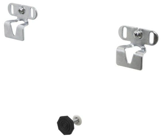 EASY ZINCADO Suporte fixo UNIVERSAL. Produto zincado Distância da parede: 18mm