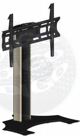 """FL 500 PRE Pedestal Automatizado para TV LCD/Plasma/LED de 37"""" a 60"""" - Vermelho com Preto"""
