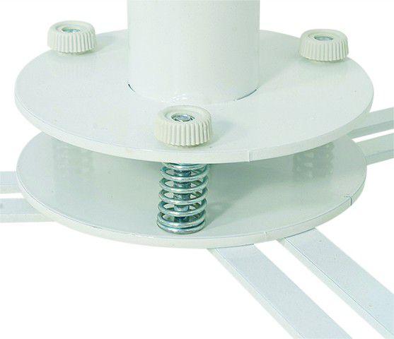GAIOLA Suporte de Teto com Inclinação para Projetor. Anti-Furto (Ajuste de altura de 300 a 500mm