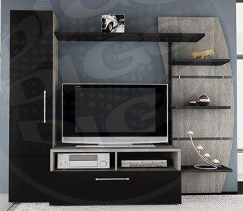"""HOME MILAO Estante para TVs até 46"""" Medidas: 2,20 x 0,47 x 1,85cm"""
