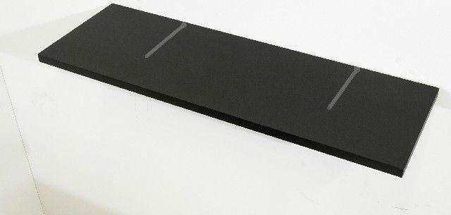 Kit com 02 Prateleiras Flutuante 25x90 cms com suporte incluso KIT-PBS-2590