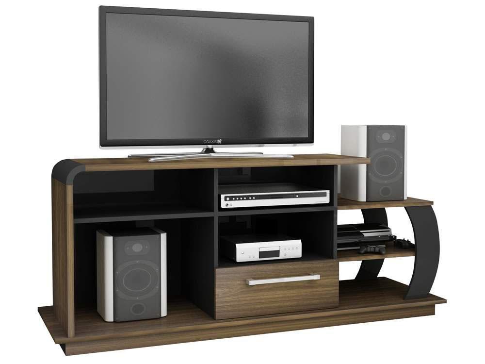 """LIRIO Rack para TV/LCD/PLASMA/LED até 46 e SOM C/design inovador 'FOSCO"""""""