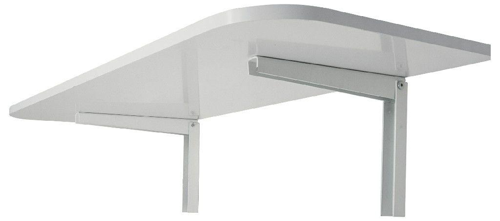 MDS 40X90 Mesa Dobravel com suporte incluso 40x90 cms Branca