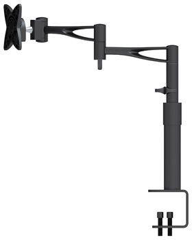 """MI 006 PRE Suporte de mesa Articulado com Inclinação para Monitor LCD/LED de 10"""" a 19"""" - Preto"""