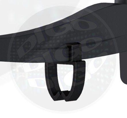 """MI 226 Suporte Articulado com Inclinação para TV LCD/LED de 13"""" a 32"""" - Preto"""