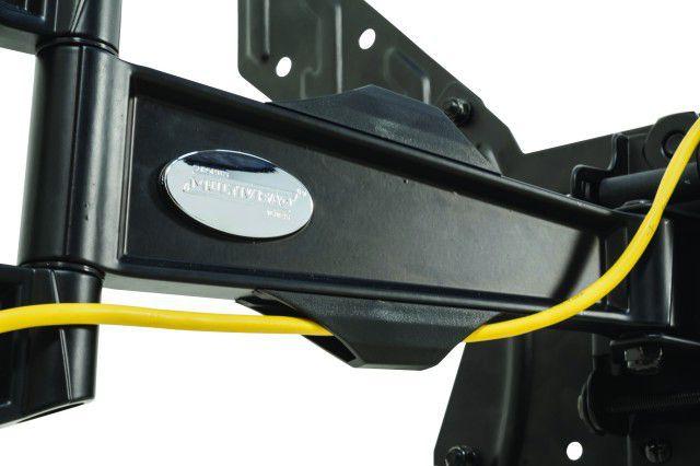 """MI 340 Suporte Articulado com Inclinação para TV LCD de 26"""" a 40'' e LED de 26"""" a 55"""" Cor: Preto"""