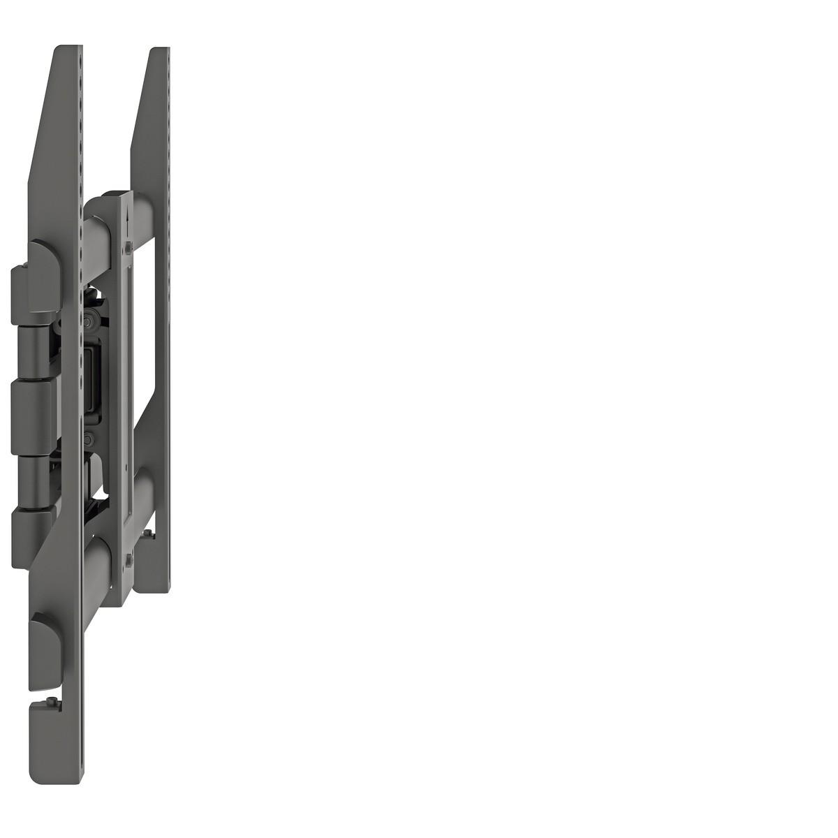 MI 6BA Suporte TRI-articulado estrutura em aluminio ate 70 pol Cor: Preto
