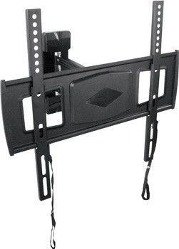 """MI 802 PRE Suporte Articulado com Inclinação para TV LED de 26"""" a 42"""" - Preto (Ultra Slim)"""