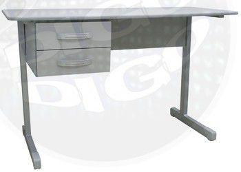 MO 1600 Mesa Secretária c/2 gavetas