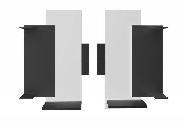 """MODERN PAINEL DECORATIVO COM SUPORTE PARA TV LCD/PLASMA/LED ATÉ 60"""" - Suporte UM"""