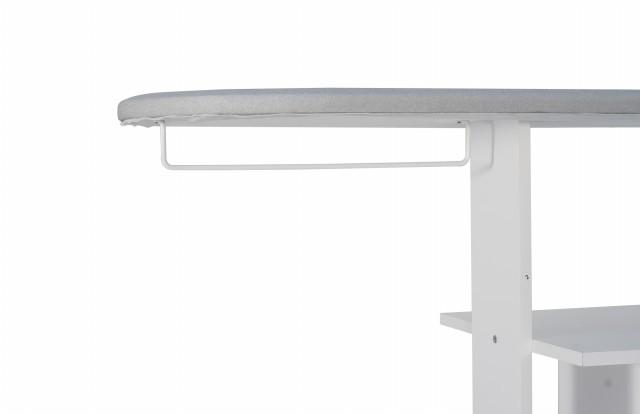 MPR 20 Movel para passar roupa c/Tecido Térmico porta e prateleira-Branco