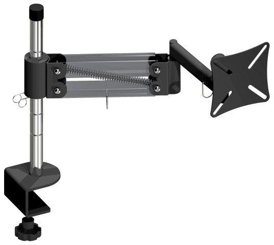 """MT GRAMPO Suporte de mesa Articulado com Inclinação para Monitor LCD/LED de 10"""" a 24"""" (Fixação M FG"""