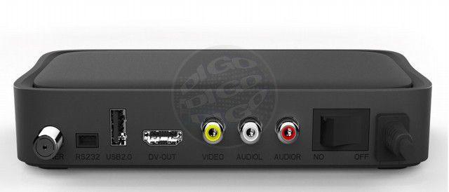 Multi Digital Universal Transcodificador Digital ISDB-T com display,