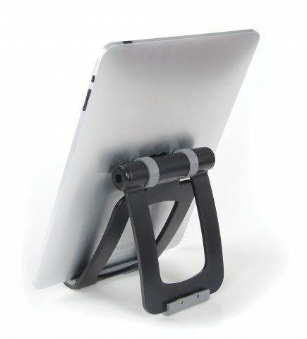 MULTI PAD Suporte de Mesa para Tablet - Estrutura branca com acabamento