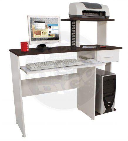 NEW GEN Mesa para micro e impressora (pintura com verniz protetor)