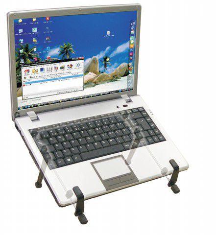 NT MULTI Suporte Desmontável para Laptop com Ajuste de Altura - Preto
