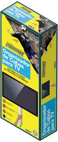 OC 555 Kit Organizador de Cabos - 3 organizadores de 40,7 x 10,8cm cada