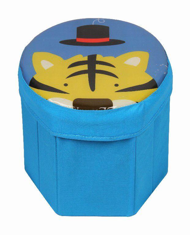 Organizador Infantil Animais - Caixa de Brinquedos  25x25 cms