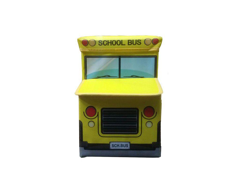Organizador Infantil Mini Carro e com banco 55x31x26 cms