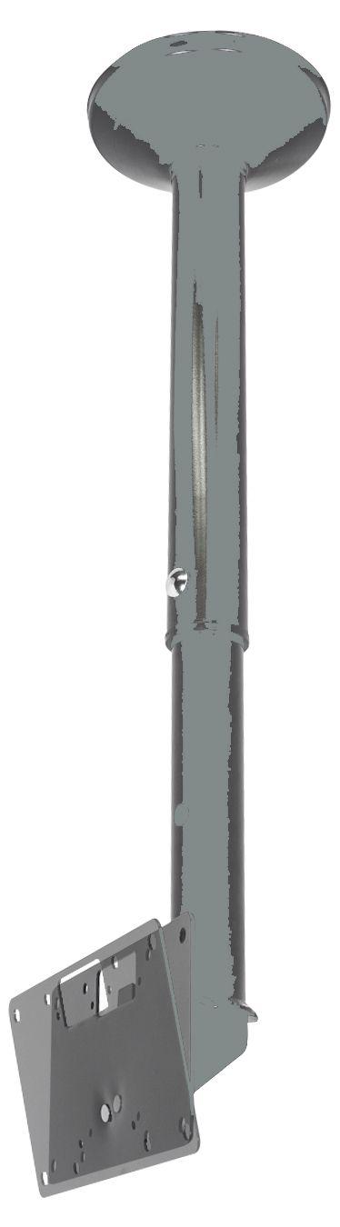 """SKY 31 Suporte de Teto para TV LCD/LED de 19"""" a 40"""" (Ajuste de altura de 750 a 1.400mm)"""