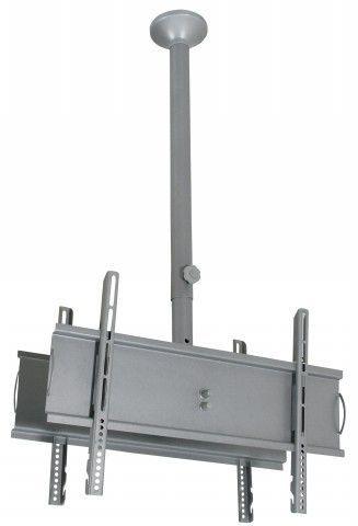 """SKY PRO DUO G  Suporte de Teto para 2 TVs LCD/Plasma/LED de 32"""" a 52"""" (Ajuste de altura de 1.350m"""