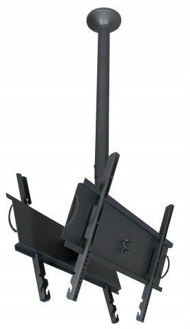 """SKY PRO DUO M Suporte de Teto para 2 TVs LCD/Plasma/LED de 32"""" a 52"""" (Ajuste de altura de 750mm"""