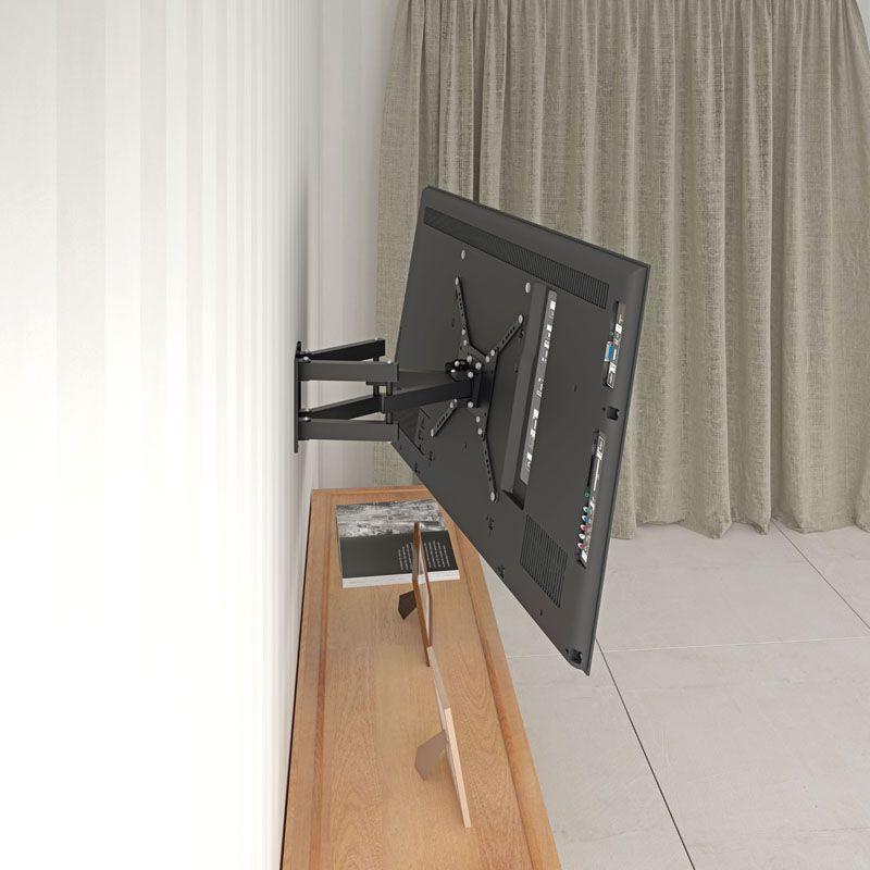 STPA 2000  Suporte para tv tela curva ate 65 pol Cor: Preto