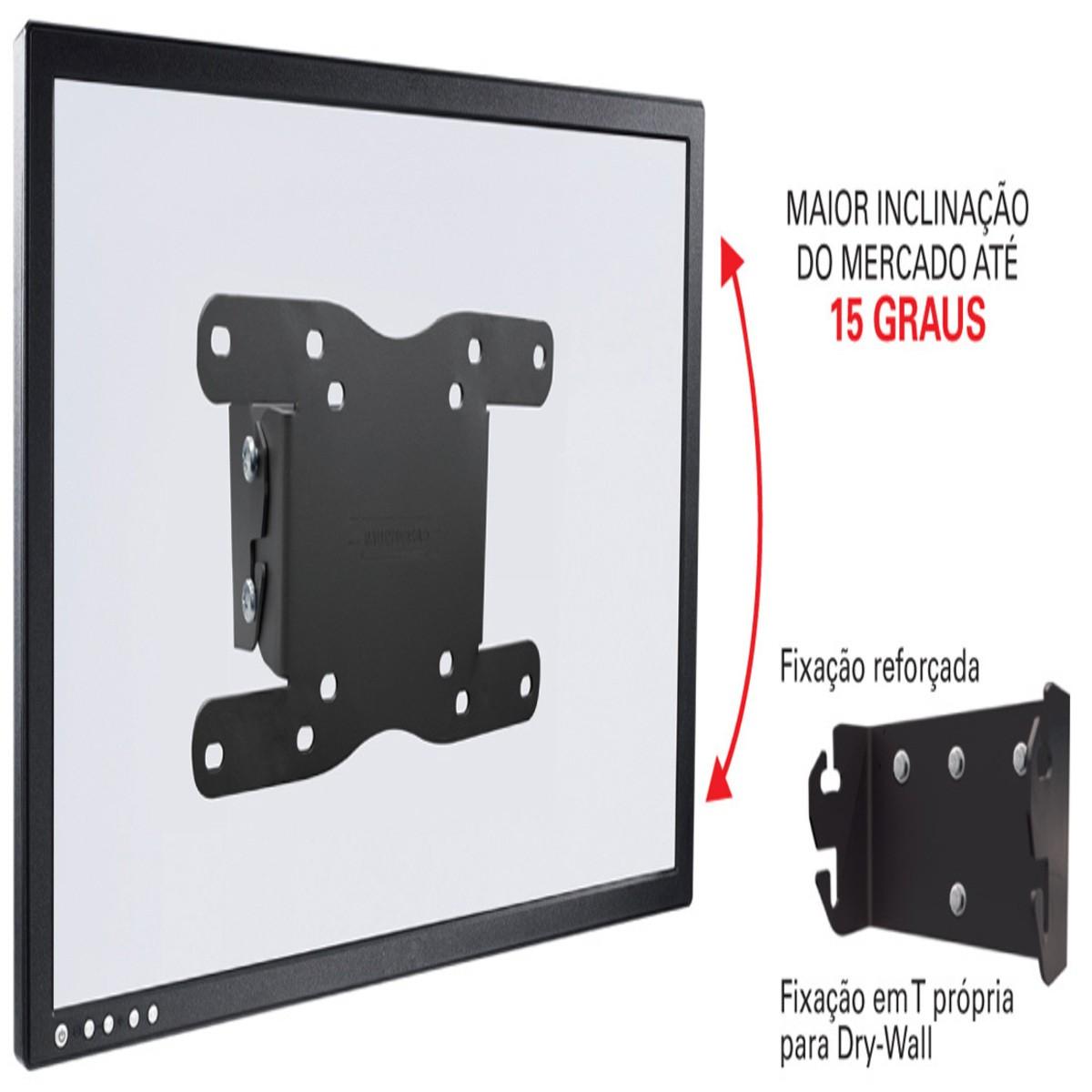 """STPA 42 Suporte com Inclinação para TV LCD/LED de 19"""" a 40"""""""