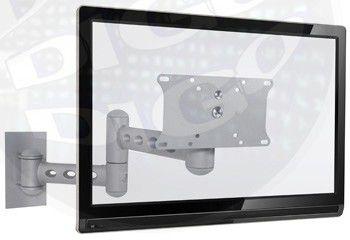 """STPA 58 PRA Suporte Articulado com Inclinação para TV LCD/Plasma/LED de 32"""" a 40'' - Prata"""