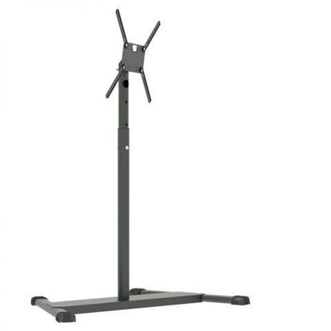 UNI PRO T 1 Pedestal de chão para TV tela plana 56 pol 1200 a 1800 cms PRETO