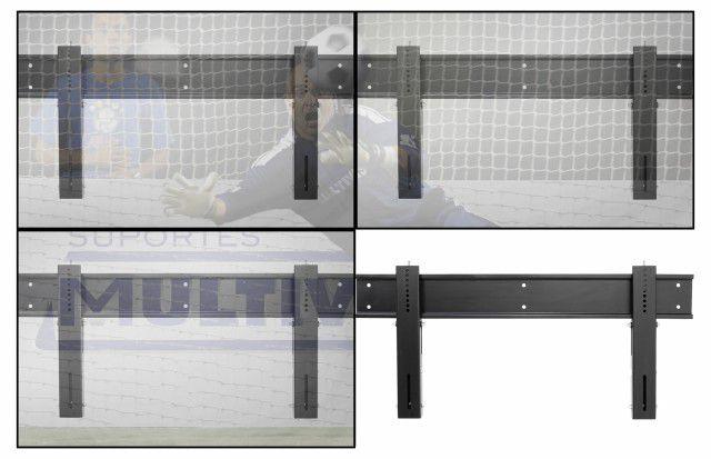 "VIDEO WALL 4647 Suporte de Parede para Monitor LFD de 46"" a 47"" - uso Profissional - Preto"