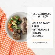 Filé de Saint Peter + Batata Doce + Mix de Legumes