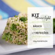 KIT - ALMOÇO LIGTH BÁSICO - 7 REFEIÇÕES