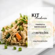 KIT - FRANGO COM BATATA DOCE - 7 REFEIÇÕES