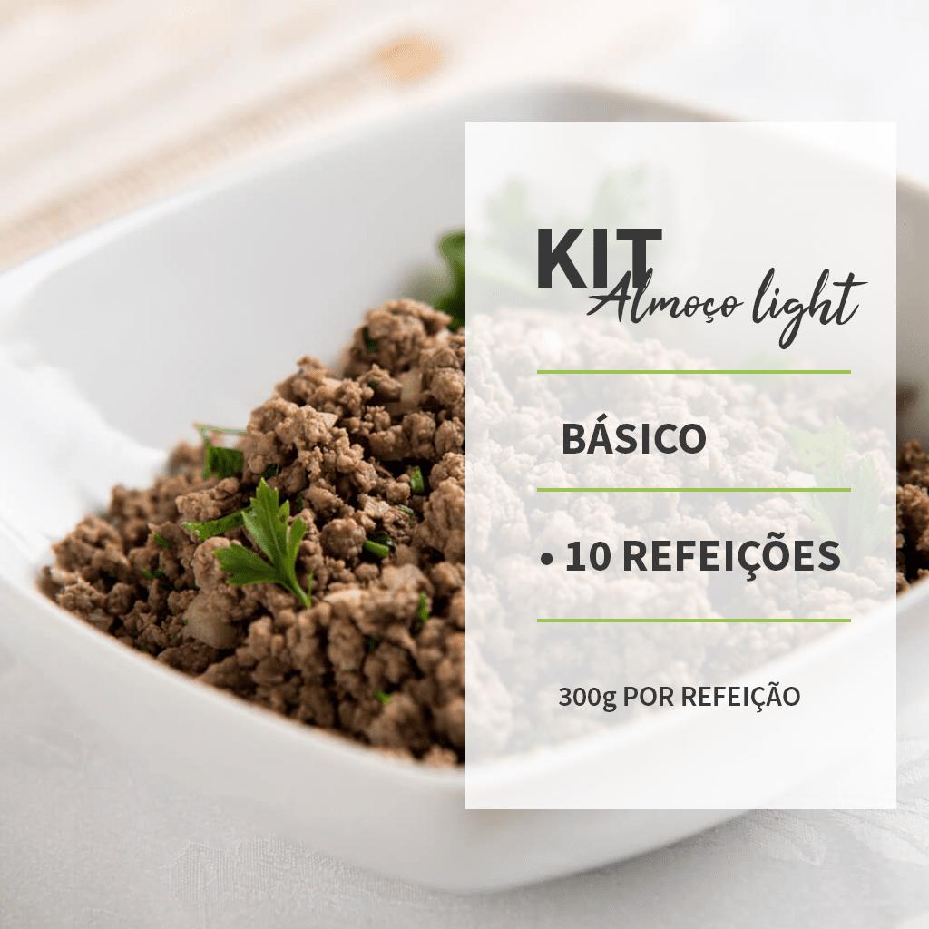 KIT - ALMOÇO LIGTH BÁSICO - 10 REFEIÇÕES