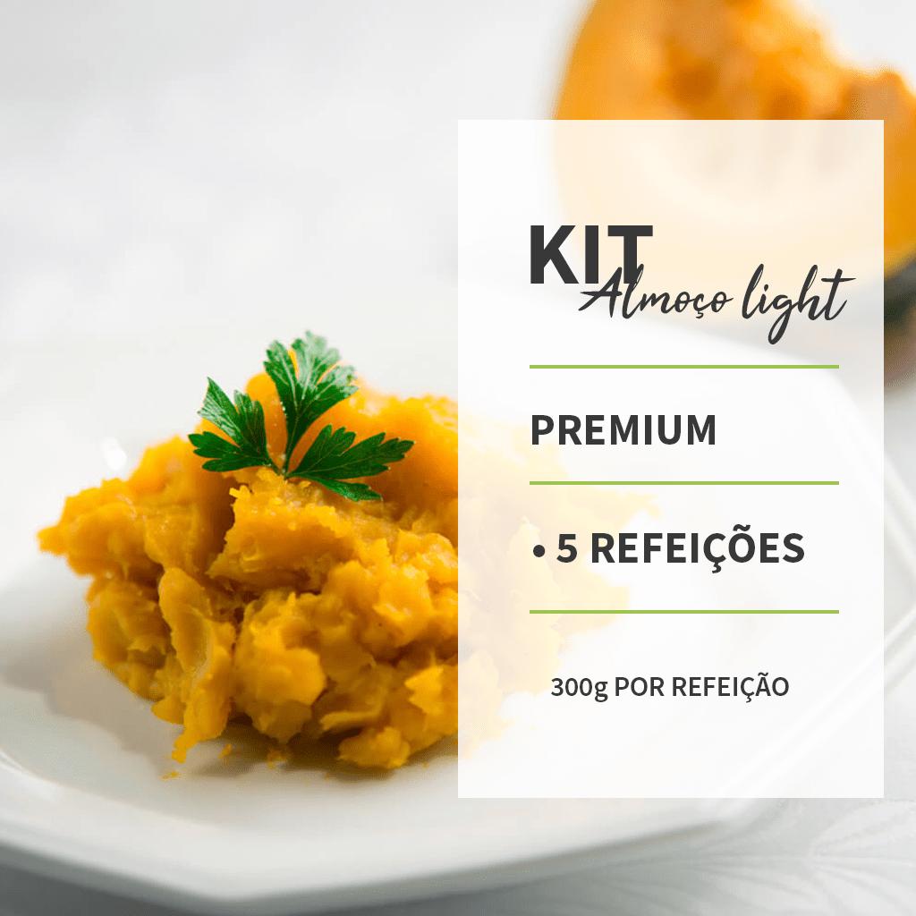 KIT - ALMOÇO LIGTH PREMIUM - 5 REFEIÇÕES