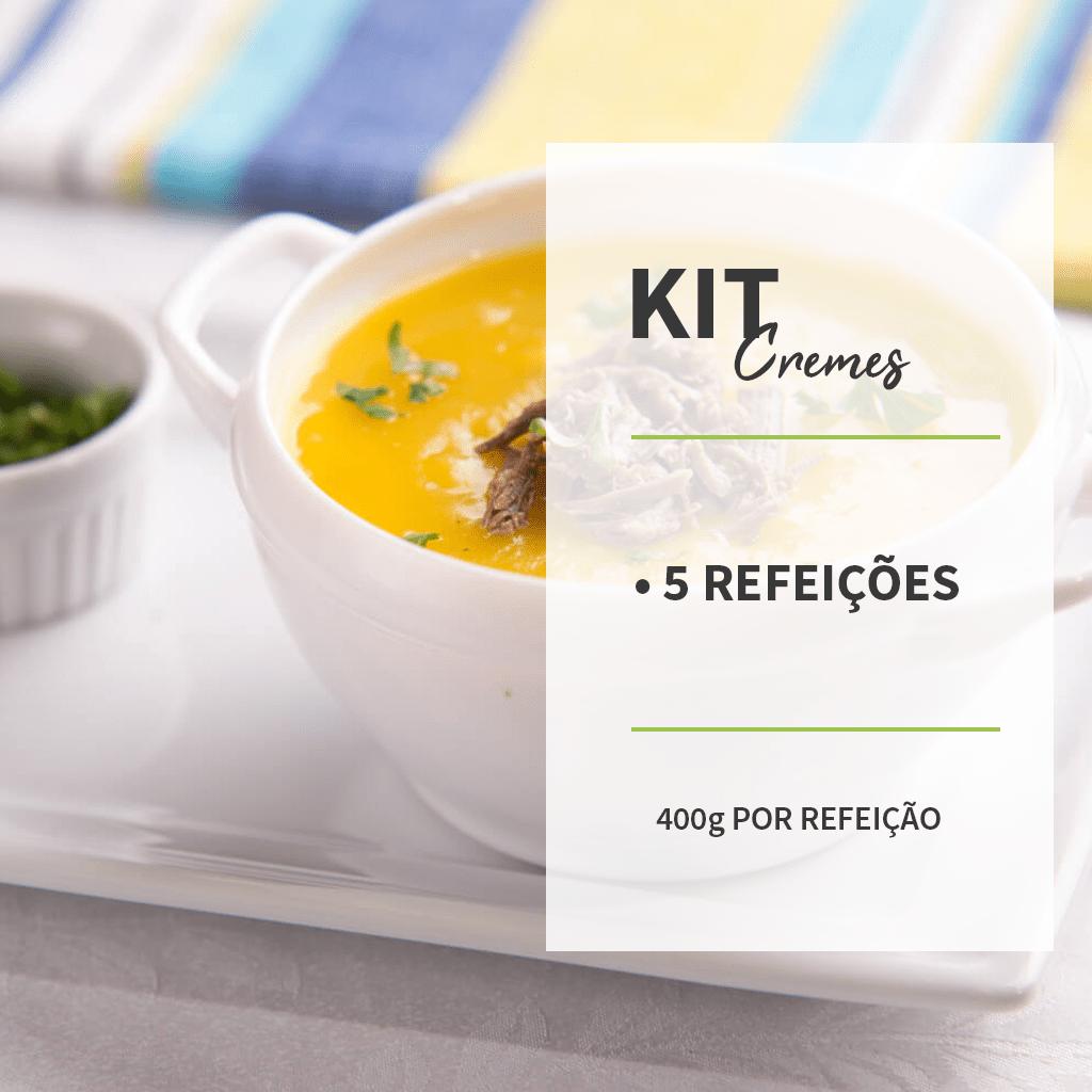 KIT - CREMES - 5 REFEIÇÕES