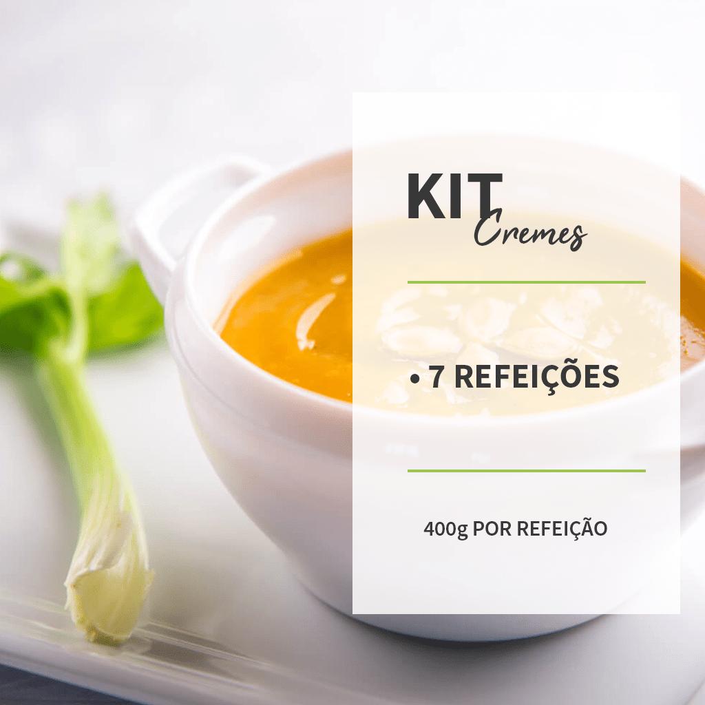 KIT - CREMES - 7 REFEIÇÕES