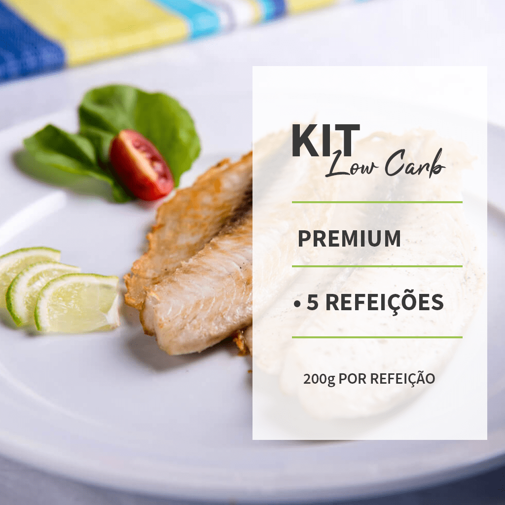 KIT - LOWCARB - PREMIUM - 5 REFEIÇÕES