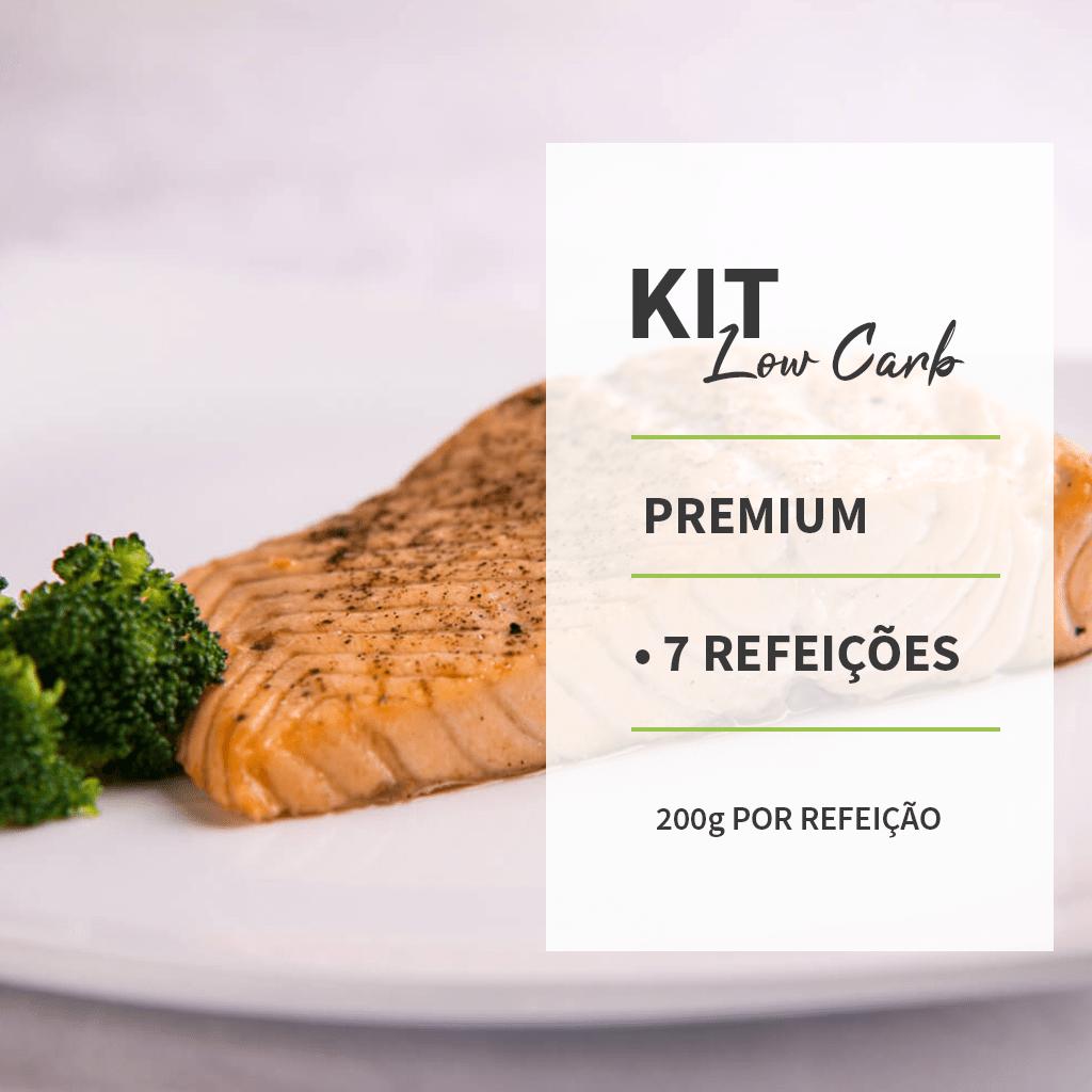 KIT - LOWCARB PREMIUM - 7 REFEIÇÕES