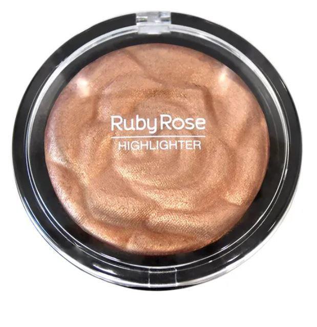 Baked Highlighter Powder Rose Gold 72234