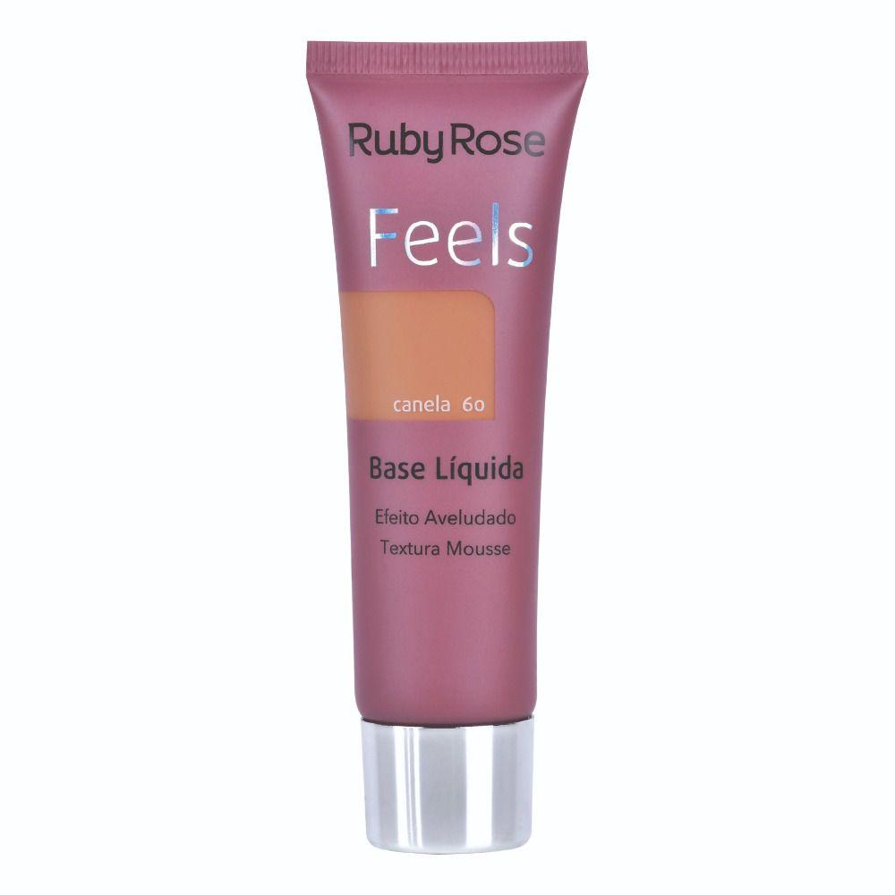 Base líquida Matte Feels Canela 60 - Ruby Rose