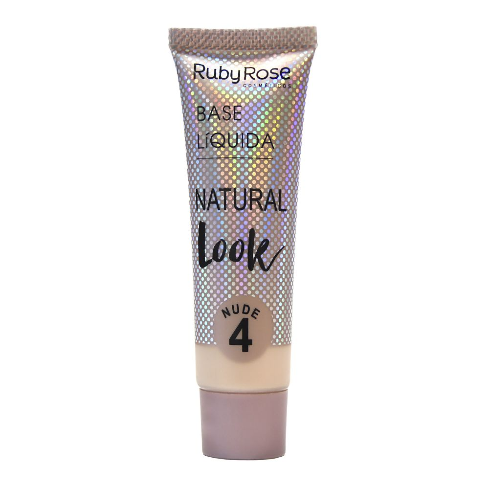 Base Líquida Natural Look 4 Nude Escuro